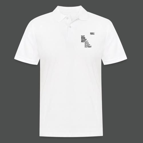 Eat Ride Sleep RepEAT - Men's Polo Shirt