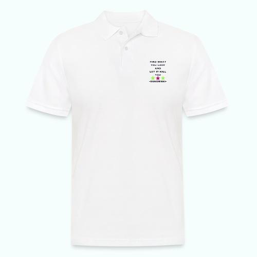 bukowski - Männer Poloshirt