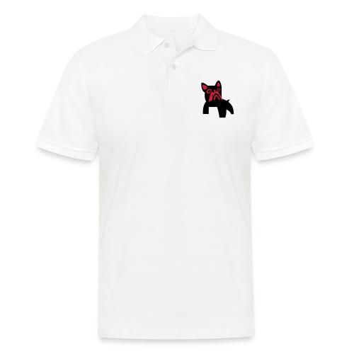 MadDog_kunst mit hund_2fa - Männer Poloshirt