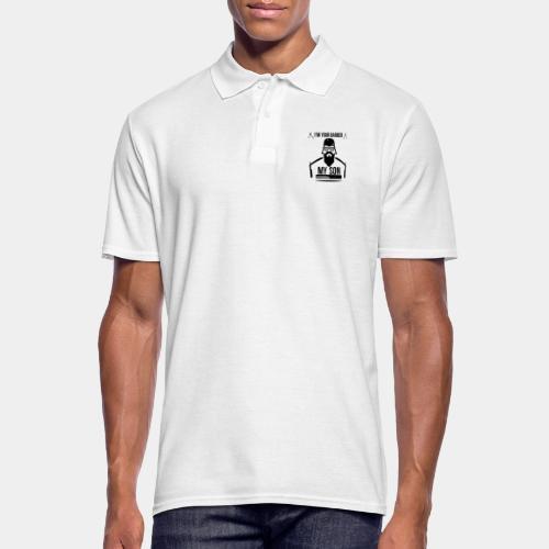 BARBER_1 - Koszulka polo męska