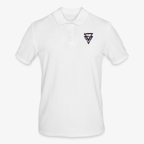 Cosmicleaf Triangles - Men's Polo Shirt