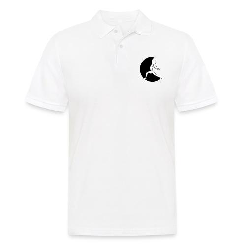 Warrior Princess Yoga Logo black Moon - Men's Polo Shirt
