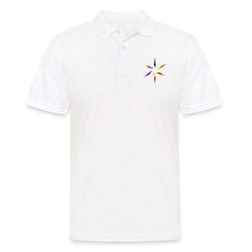 Regenbogenstern - Männer Poloshirt