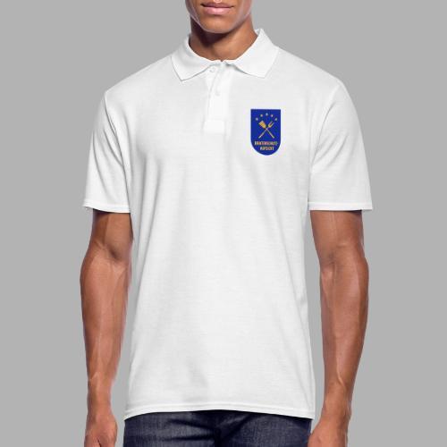 EU Bratenschutz-Aufsicht Dienstabzeichen blau - Männer Poloshirt