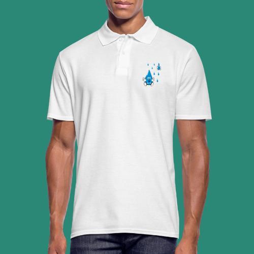 Tropfen - Männer Poloshirt