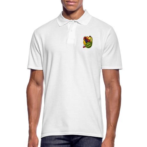 Happy Fruits - Männer Poloshirt