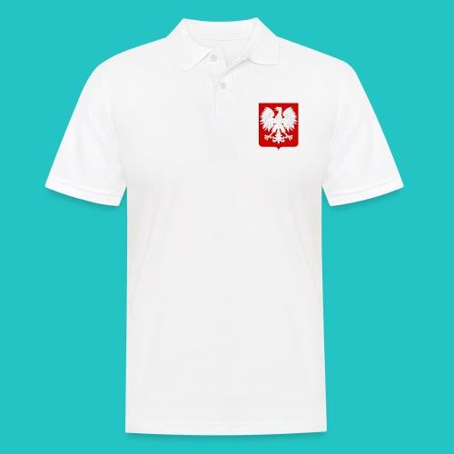 Koszulka z godłem Polski - Koszulka polo męska