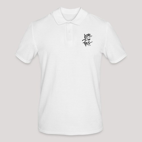 LDT Clear MASTER BLK - Men's Polo Shirt