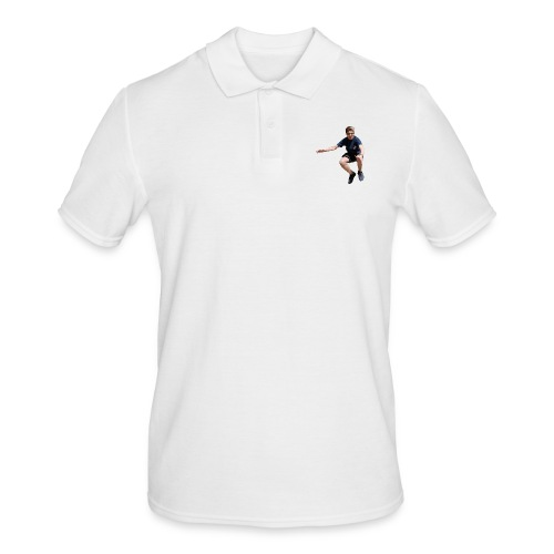 flying man - Mannen poloshirt