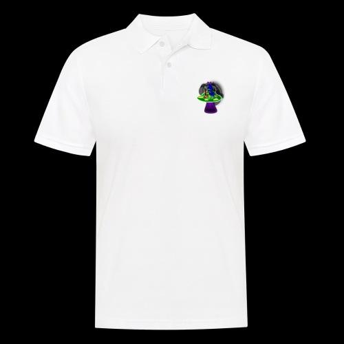 Hookah rauchende Raupe - Männer Poloshirt