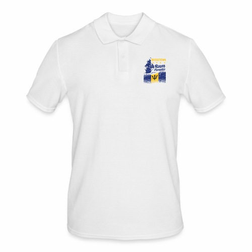 T-shirt Rum Fanatic - Bridgetown - Barbados - Koszulka polo męska