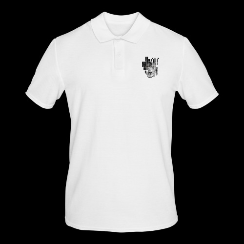 Pixel Lion Tattoo Inspire - Men's Polo Shirt