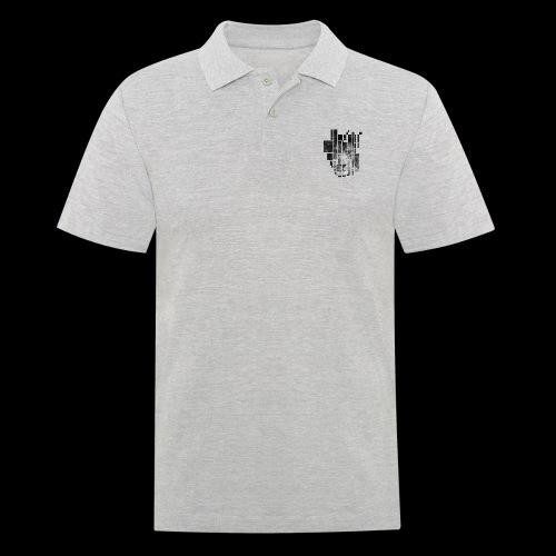 Pixel Lion Tattoo Inspire - Men's Polo Shirt