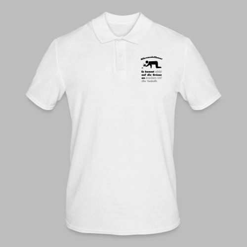 Mikromodellbau Weisheit - Männer Poloshirt