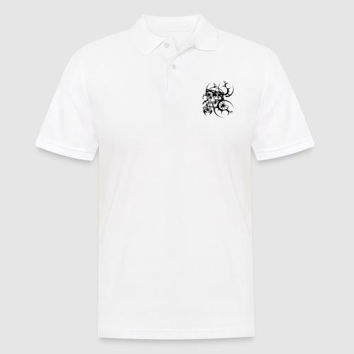 Tattoo Totenkopf - Männer Poloshirt