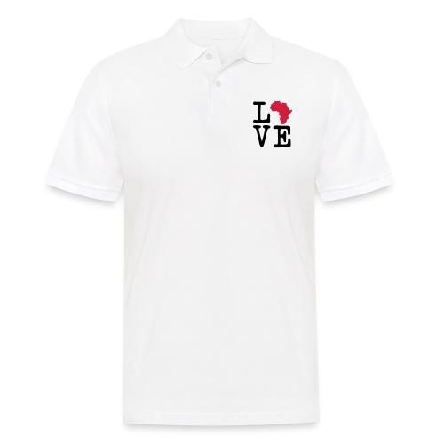 I Love Africa, I Heart Africa - Men's Polo Shirt