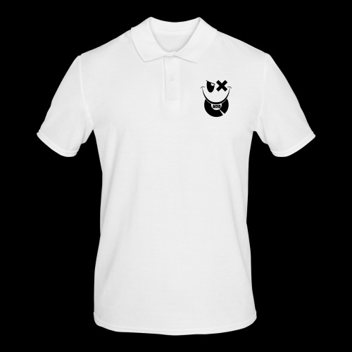 smiley acid techno vinyl - Men's Polo Shirt