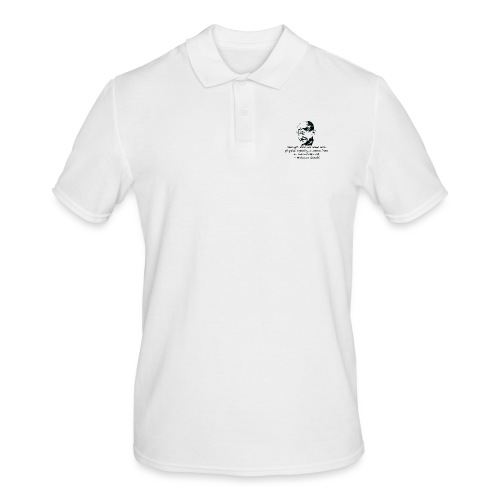 Strength Comes from Will - Men's Polo Shirt