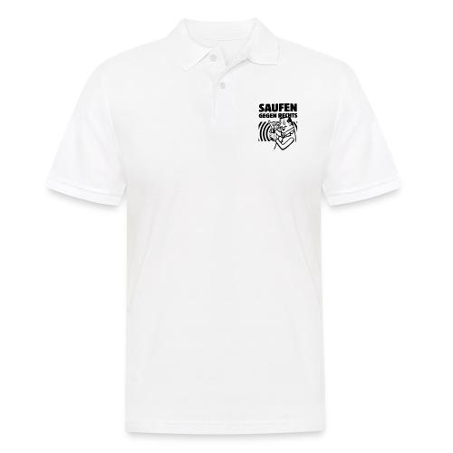 Saufen gegen Rechts - Männer Poloshirt