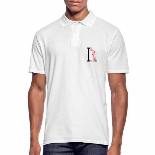I love you - Men's Polo Shirt