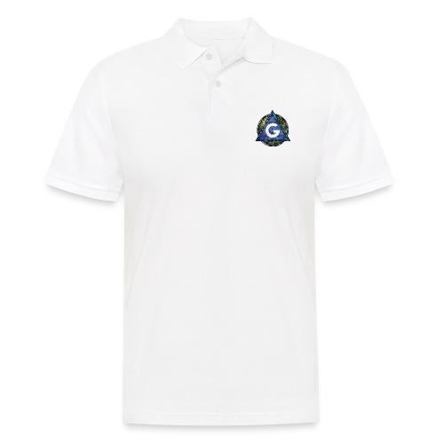 Grime Apparel Geo Print. - Men's Polo Shirt