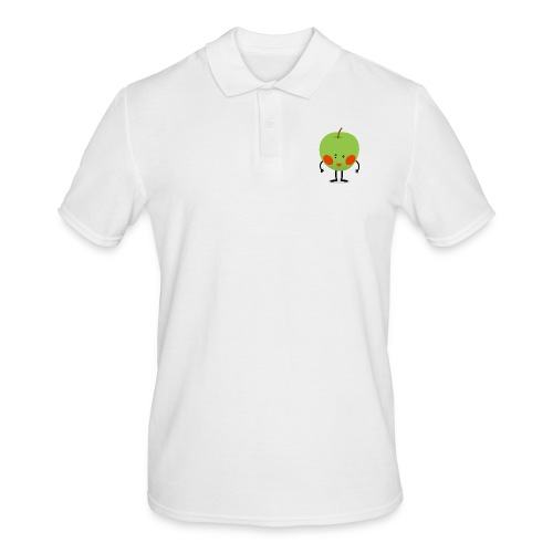 Happy Apfel - Männer Poloshirt