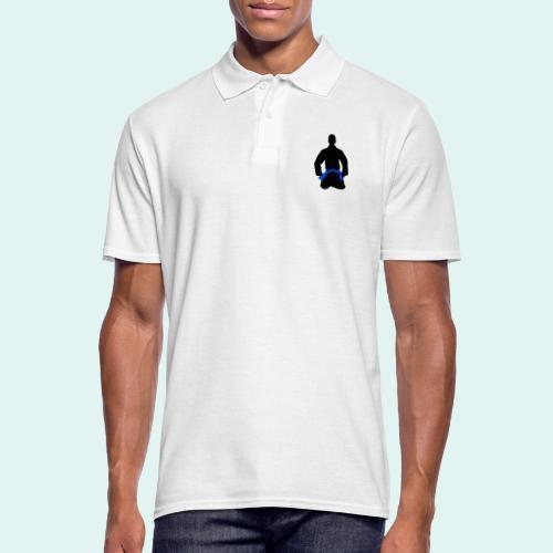 Judo Blaugurt - Männer Poloshirt