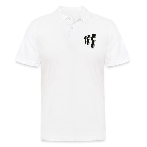 3er Kickershirt Logo ohne Ball - Männer Poloshirt