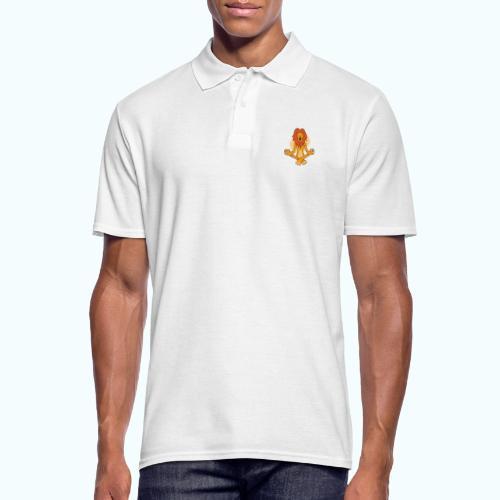 Yoga Lion - Men's Polo Shirt