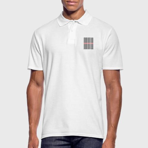 Dude With Hair Red Wave - Mannen poloshirt