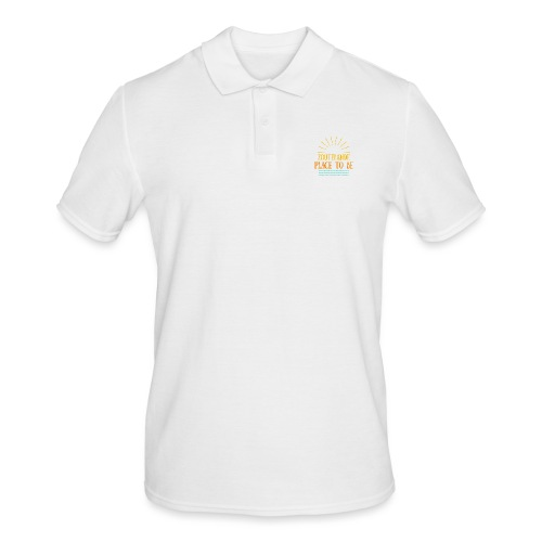 Zoutelande - Place To Be - Männer Poloshirt