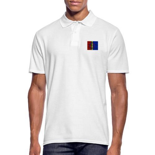 Sapmi flag - Poloskjorte for menn