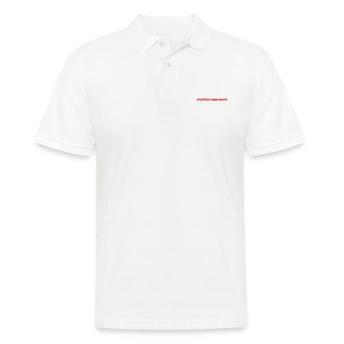 mottersproch - Männer Poloshirt