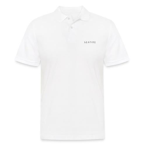 seafire logo BLACK - Mannen poloshirt
