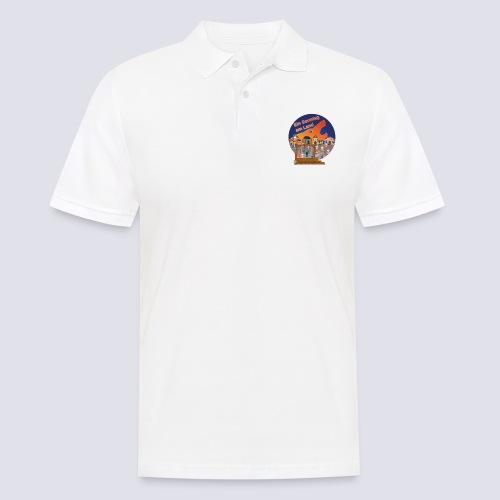 Ein Sonntag am Land - Männer Poloshirt