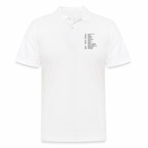 Viking-Europe-Tour back - Männer Poloshirt
