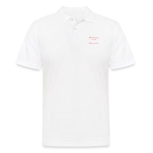 The T shirt of glory - Men's Polo Shirt