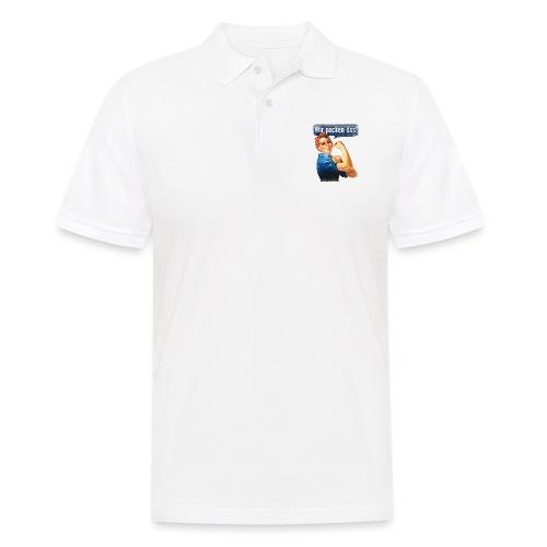 Wir packen das Frei 17cm - Männer Poloshirt