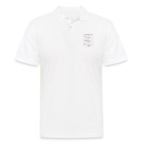 Formulas for calculating steps-per-mm. - Men's Polo Shirt
