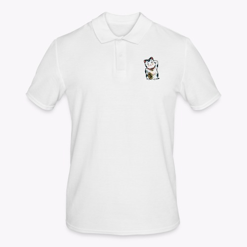 The Lucky Cat - Men's Polo Shirt