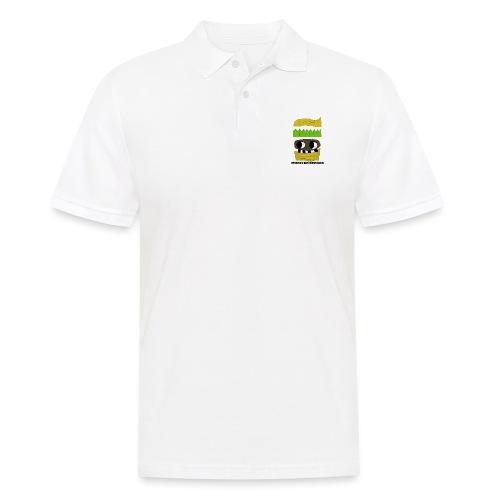 MONSTER BURGER - Männer Poloshirt