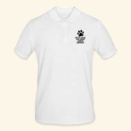 Accessoires für Hundefreunde - Männer Poloshirt