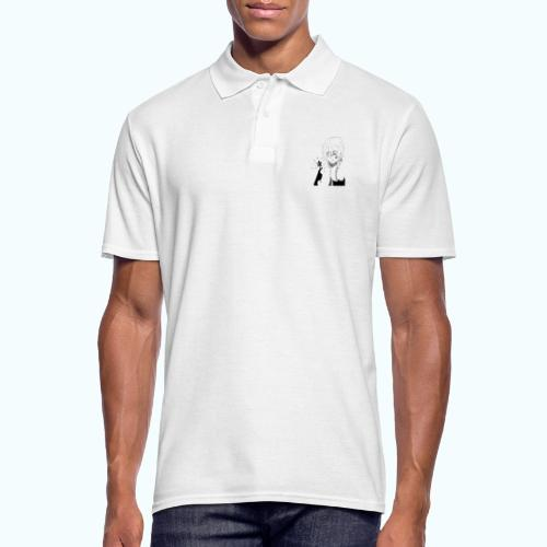 MANGA STAR real drawing - Men's Polo Shirt