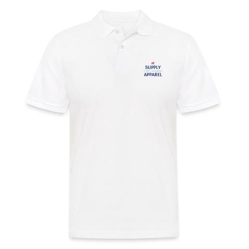Plain EST logo design - Men's Polo Shirt
