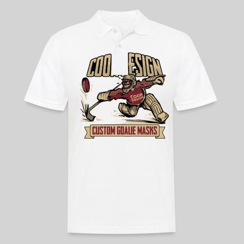 CoonDesign - Goalie - Männer Poloshirt