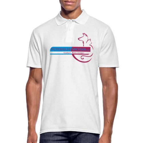 Pfotenhilfe Sachsen - Männer Poloshirt
