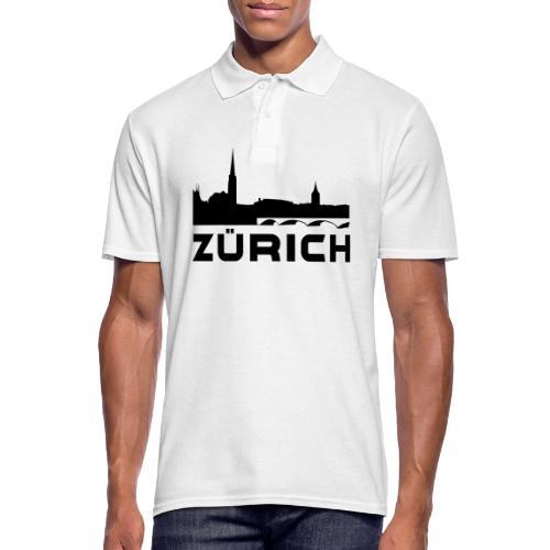 Zürich - Männer Poloshirt