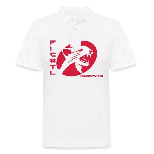 F!€#TL Soundsystem Rot - Männer Poloshirt