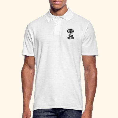 EVERY DRAMA black png - Men's Polo Shirt