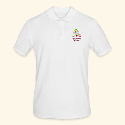 The Miseries of Life Eiscreme Eis Kind - Männer Poloshirt